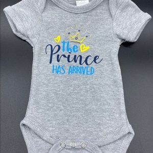 Custom Baby Boy Onesie